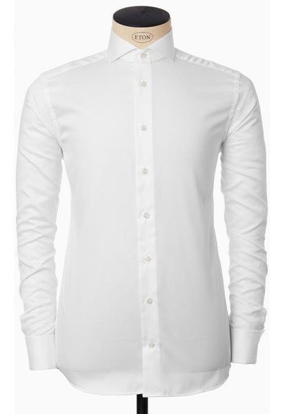 Vitan White Twill Shirt ETON Man
