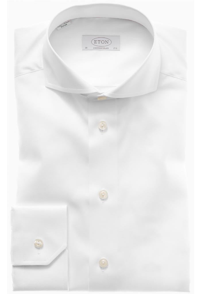 Vitan White Twill Shirt ETON