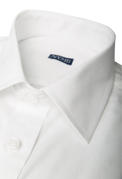 Walcott White Twill Shirt NYMB Collar