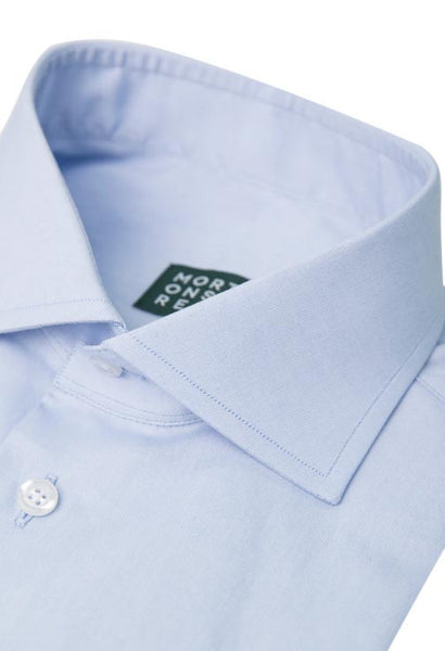 Meadow Blue Oxford Shirt Morton Street Collar