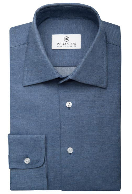 Jango Dark Blue Denim Shirt Pegaston