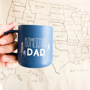 Homeschool Dad | 15oz Ceramic Mug