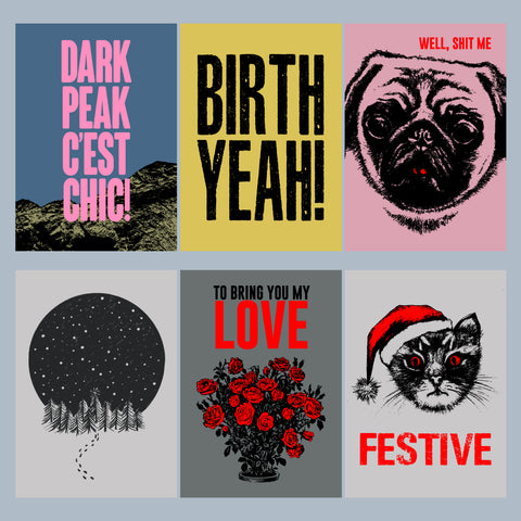 Death Rattle Press - New Greetings Card Range