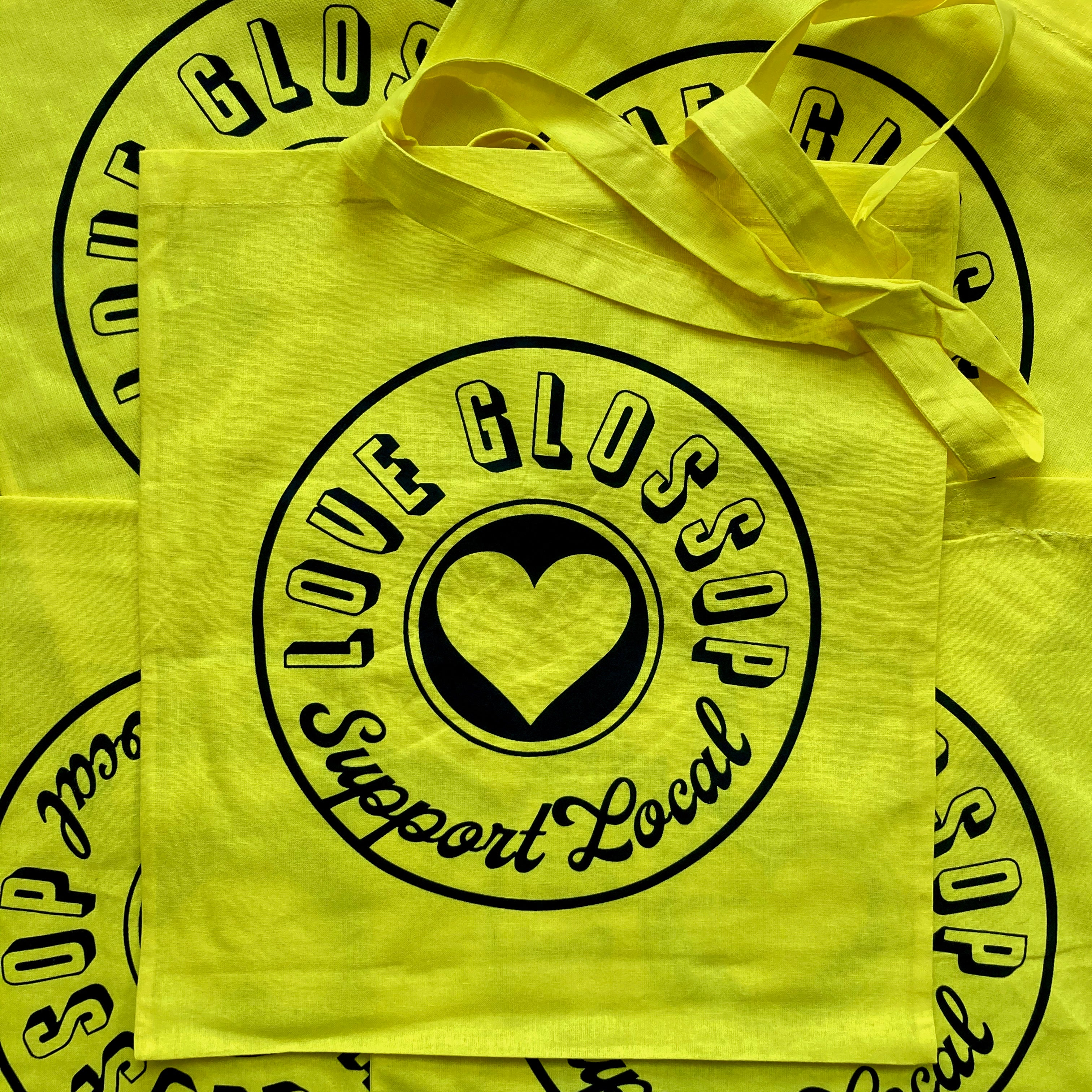 Love Glossop Support Local Tote Bag