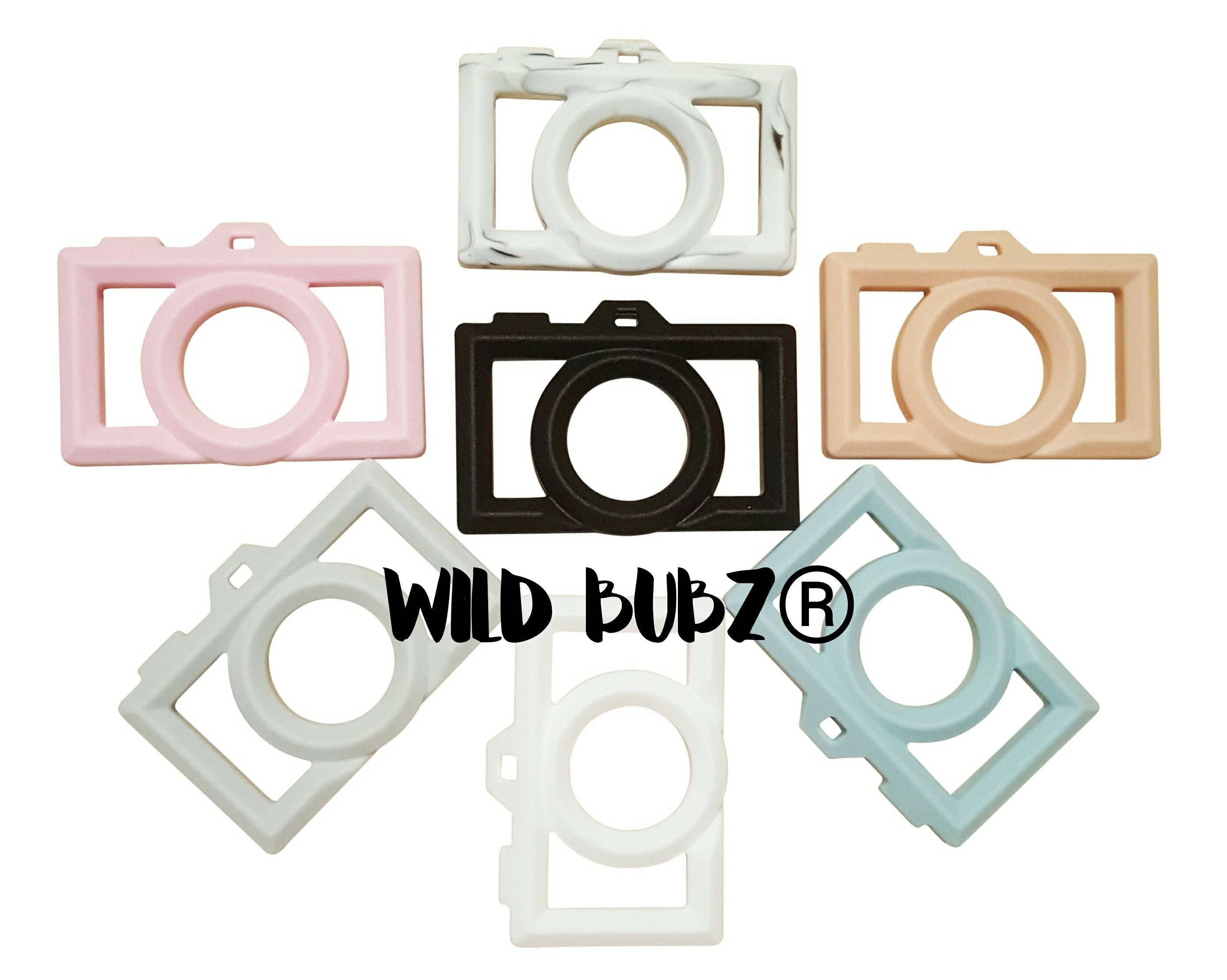 WILD BUBZ® Camera Chill & Chew Teether ★★★★★
