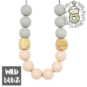 WILD BUBZ® Divinity Silicone & Beech Wood Necklace ★★★★★