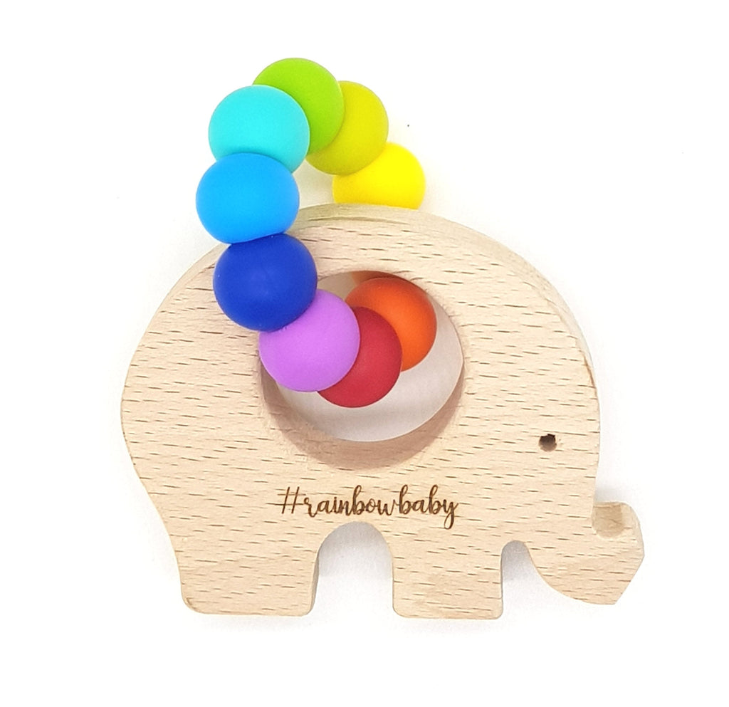 WILD BUBZ® Bright Rainbow Beech Toy | Personalised ★★★★★