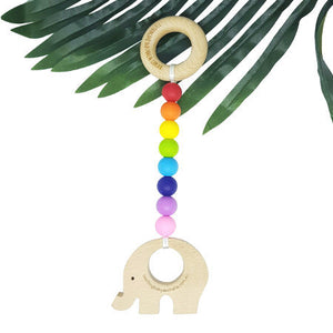 WILD BUBZ® Bright Rainbow Play Gym Toy Shapes ★★★★★