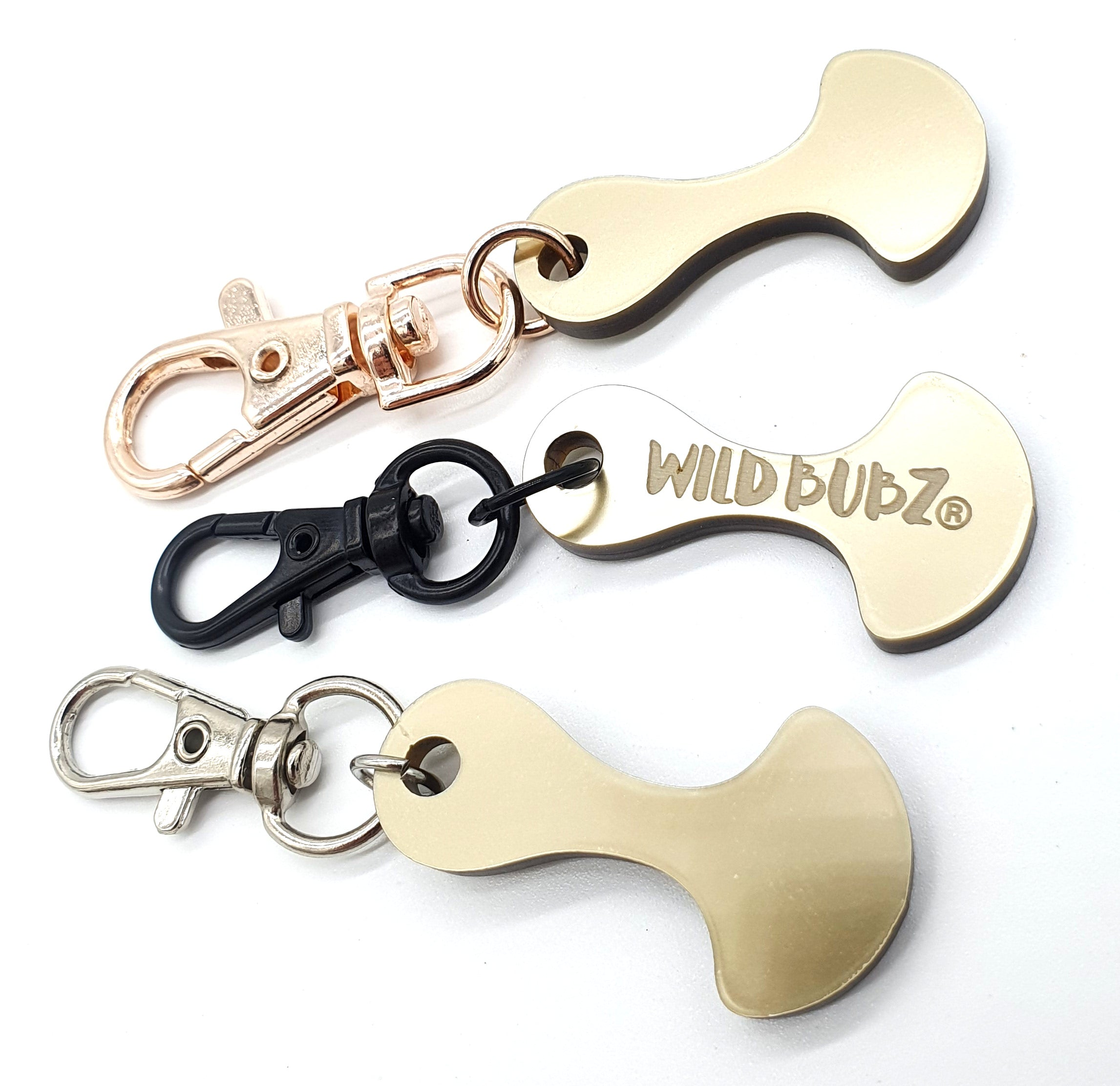 Name Initials Trolley Tokens | LUXE Collection | WILD BUBZ® ★★★★★