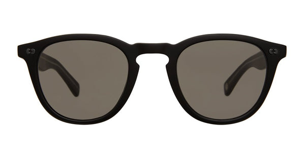 Garrett Leight Hampton X 46 Matte Black Pure Grey