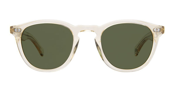 Garrett Leight Hampton X 46 Pure Glass Pure Green