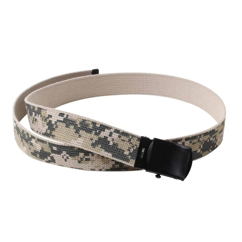 Camo Reversible Web Belt