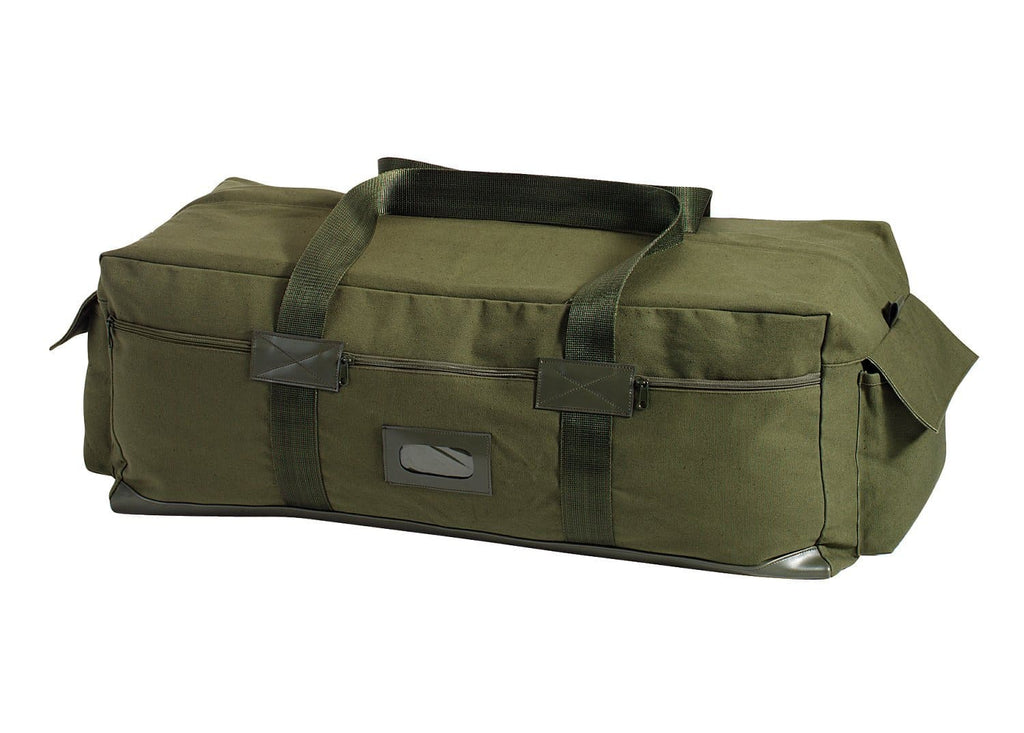 Canvas Israeli Type Duffle Bag