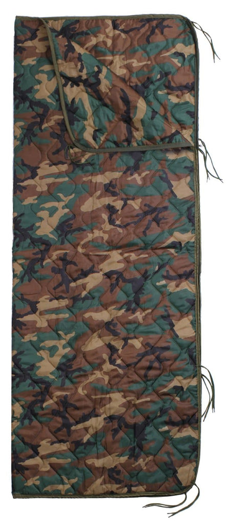 GI Type Rip-Stop Poncho Liner With Zipper