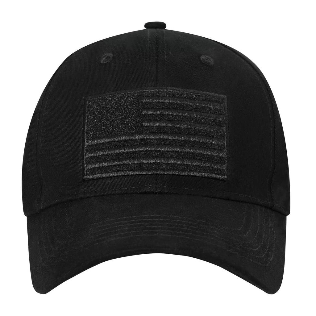 Hook & Loop U.S. Flag Low Profile Cap
