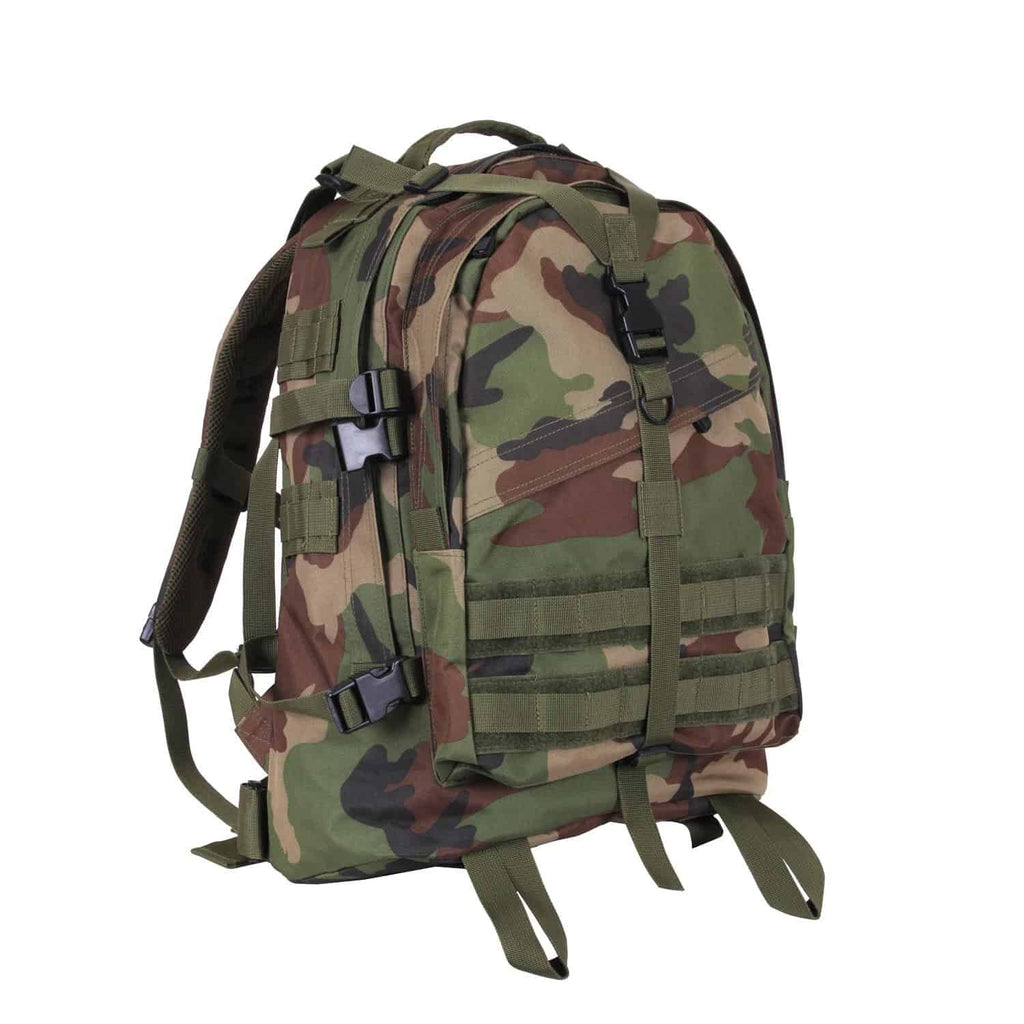 Large Camo Transport Pack
