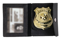 Load image into Gallery viewer, Rothco Leather ID Badge Holder