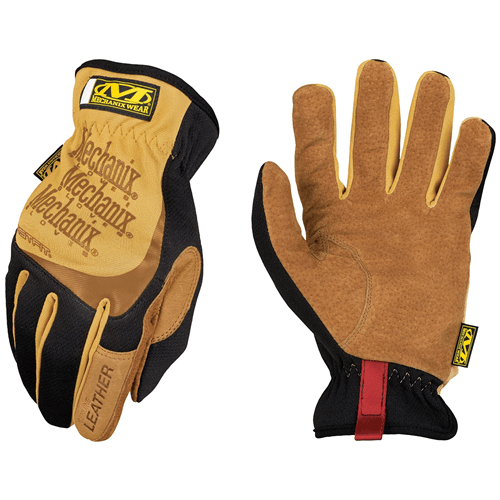 Mechanix Wear Leather FastFit Work Gloves