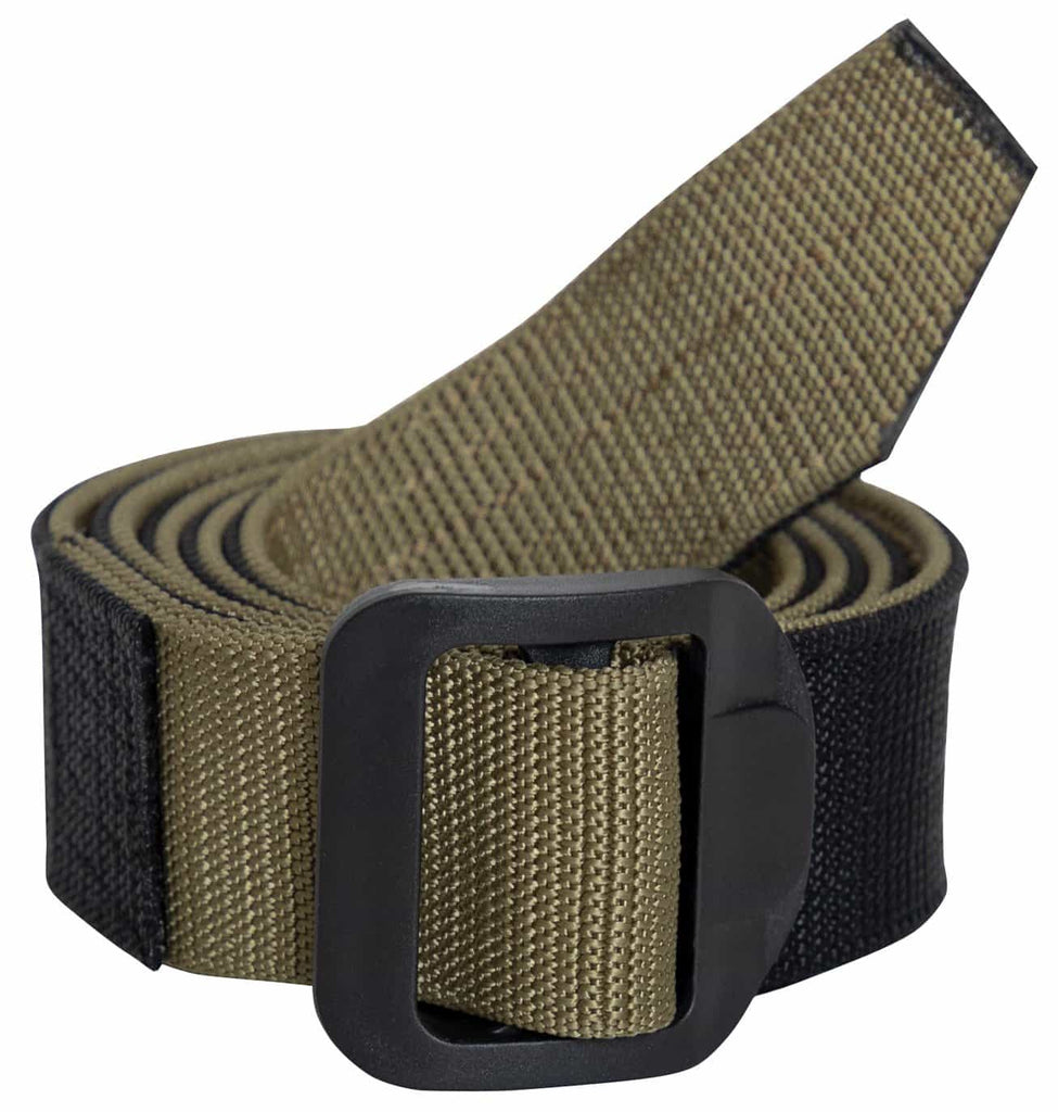 Reversible Airport Friendly Riggers Belt - Black / Coyote