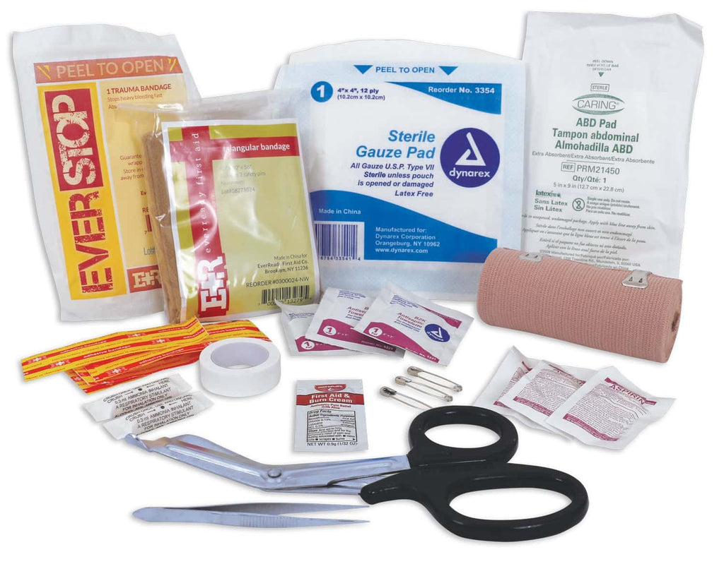 Tactical Trauma First Aid Kit Contents