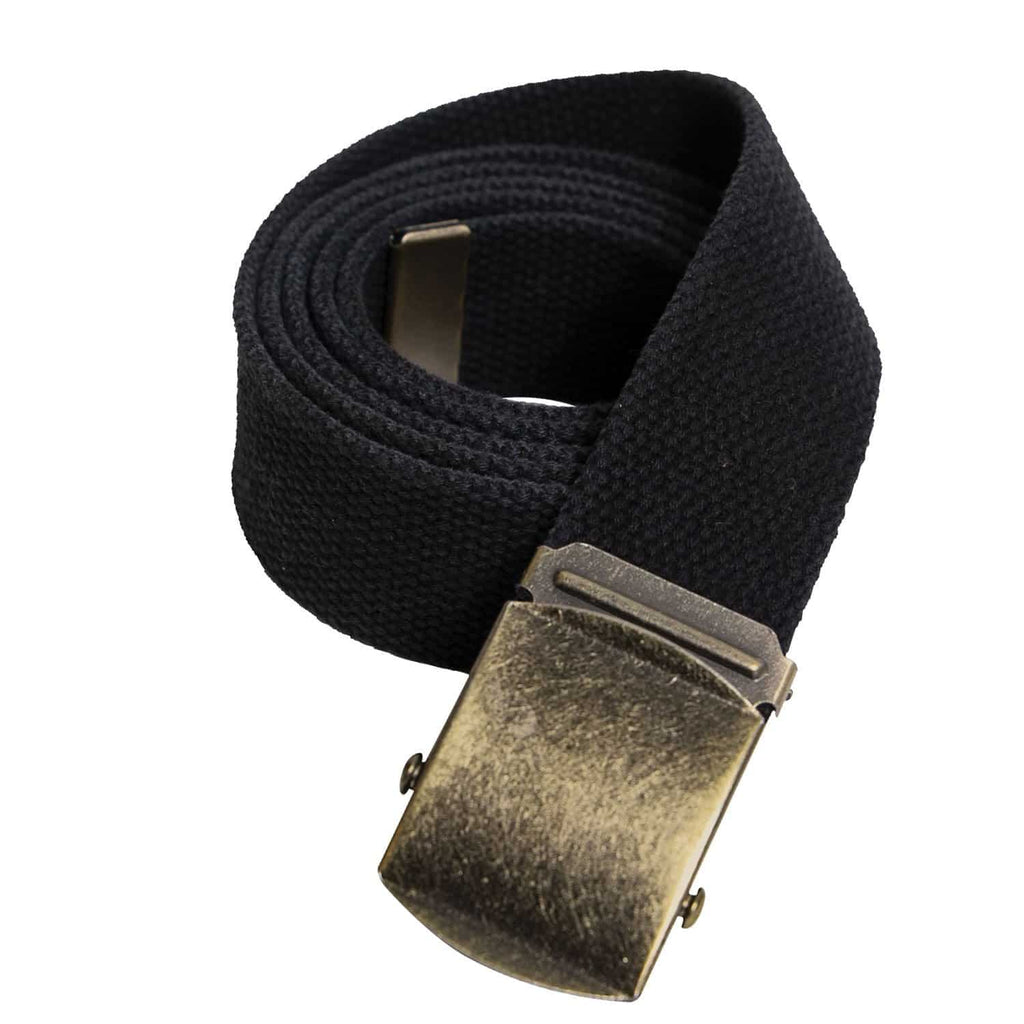 Vintage Web Belt w/ Roller Buckle