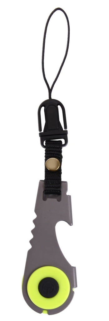 Zipper Pull Flashlight & Bottle Opener