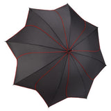 Umbrella - Red and Black Swirl