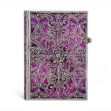 Journal - Aubergine Silver Filigree