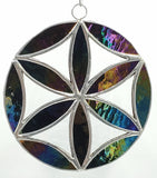 Stained Glass Small Flower of Life