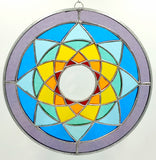 Stained Glass Chakra Mandala
