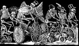 Day of The Dead T-Shirt - Bicycle Race Short Sleeved