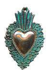Copper Milagro Heart