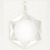 Quartz Six Point Star Pendant