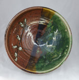 Liscom Hill Pottery - Redwood Glaze Serving Bowl