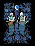 Day Of The Dead T-Shirt - Sirenas Short Sleeved