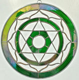 Heart Chakra Stained Glass