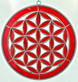 Flower Of Life Stained Glass