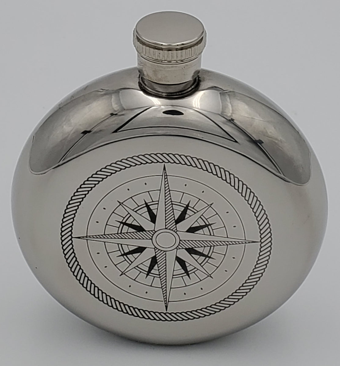 Compass Rose Flask Many Hands Gallery