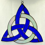 Triskelion Stained Glass