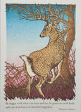 Artist To Watch Card - Father's Day Stag