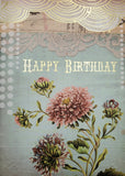 Papaya Card - Birthday Lace