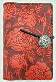 Leather Journal - Roses