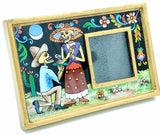 Reverse Painted Picture Frame