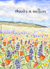Makino Studios Card - Thanks A Million