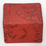 Leather Smartphone Wallet - Dragon