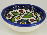 West Bank Ceramic Small Blue Bowl
