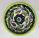 West Bank Ceramic Small Green Bowl