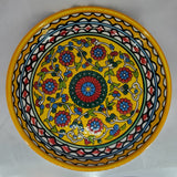 West Bank Ceramic Large Yellow Bowl