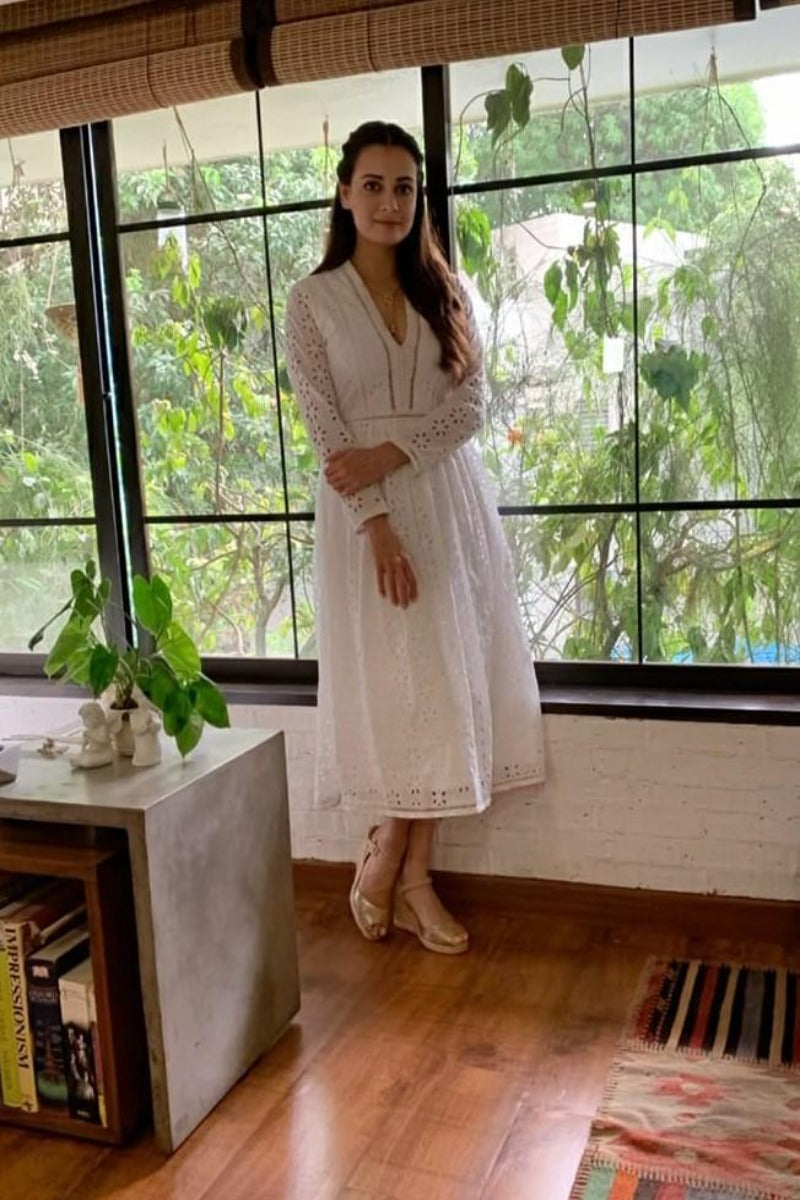 Dia Mirza looks classy in our piece lily dress