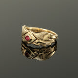 "Ruby ""Wings"" Ring"